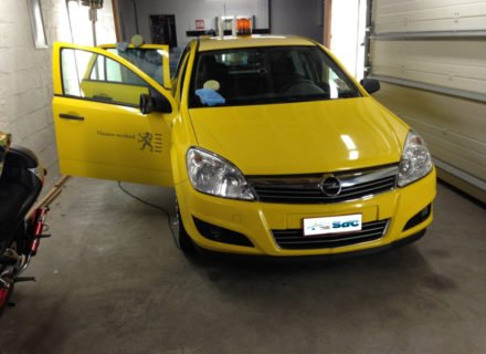 simoniseren Opel Astra