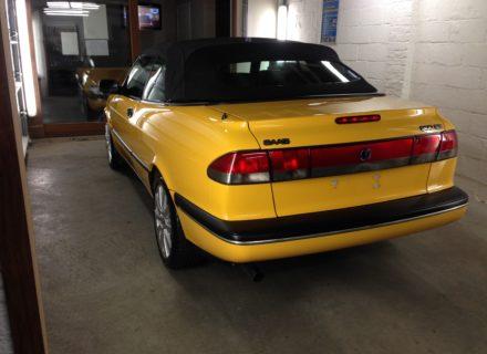 simoniseren Saab cabrio