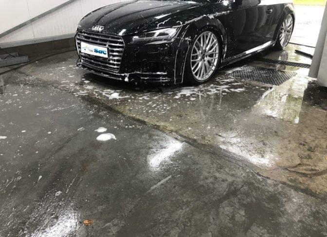 Detail reiniging Audi TT