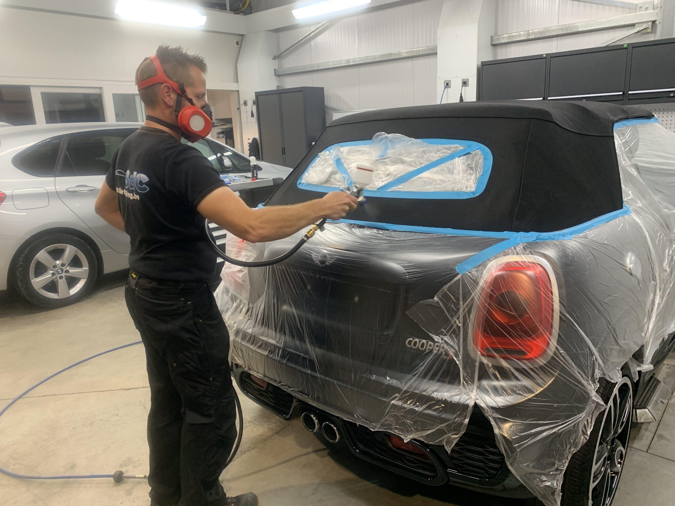 Cabrio dak impregneren Ceramic pro Mini cabrio