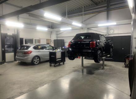 Cabriodak na reinigen en impregneren Mini cabrio