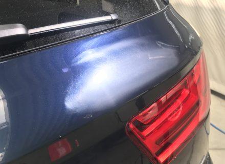 schuren lakschade Audi Q7