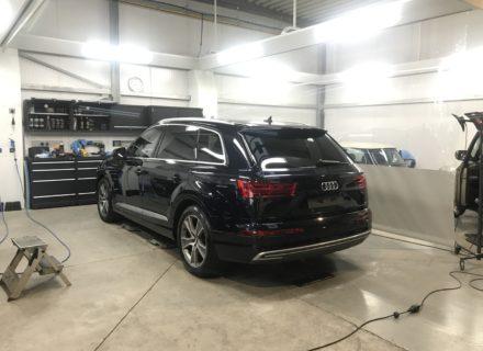 polijsten Audi Q7