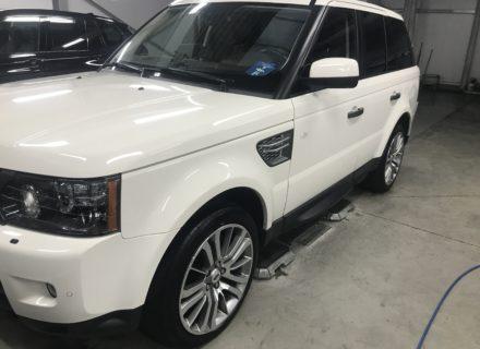 Detail reiniging Range Rover na