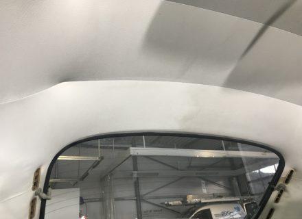 Interieur reiniging dakhemel VW Kever