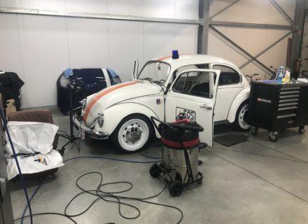 interieur reiniging met volledige ontmanteling VW Kever