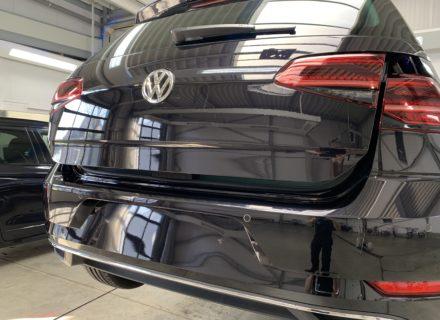 polijsten VW Golf