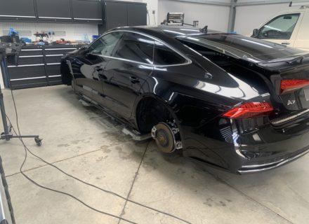 Ceramic Pro coating Audi A7