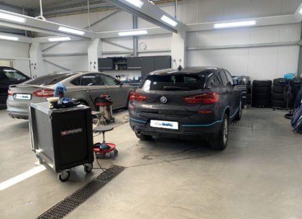 Hard Wax Lakverzegeling BMW X2