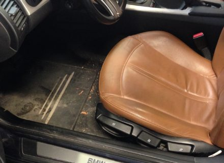 interieur reiniging BMW voor